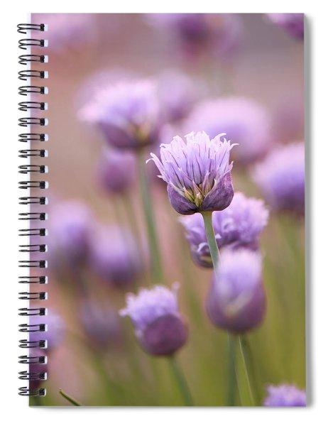 Simple Flowers Spiral Notebook