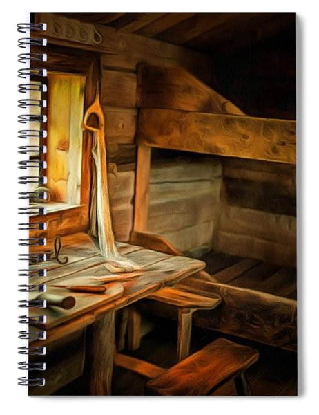 Simple Life Spiral Notebook