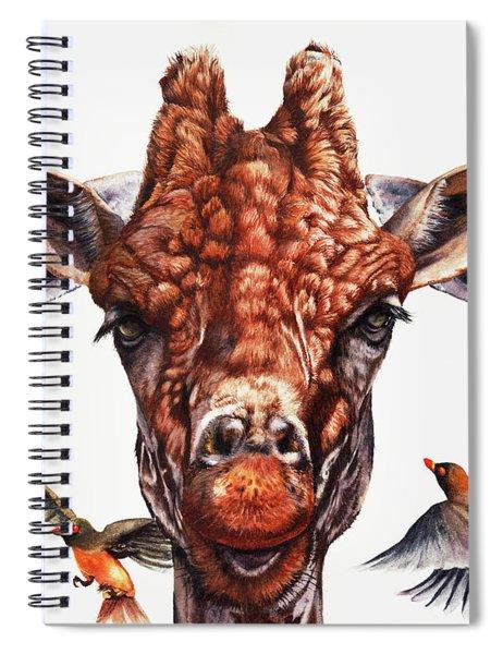 Simple Minds Spiral Notebook