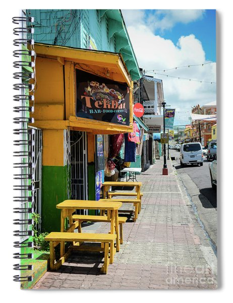 Simple Street View Spiral Notebook