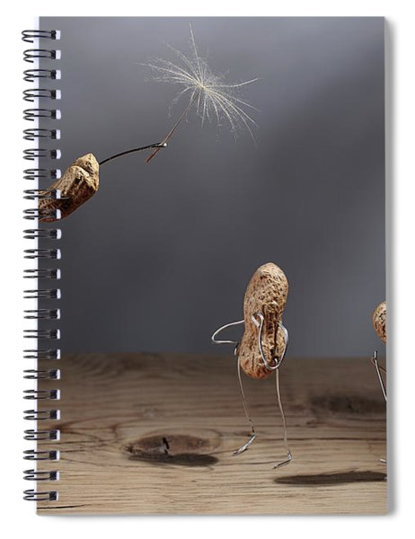Simple Things - Flying Spiral Notebook