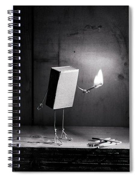 Simple Things - Light In The Dark Spiral Notebook