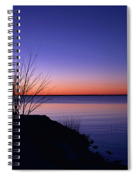 Simply Gentle Blue Spiral Notebook