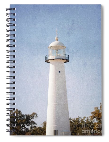 Simply Lighthouse Spiral Notebook