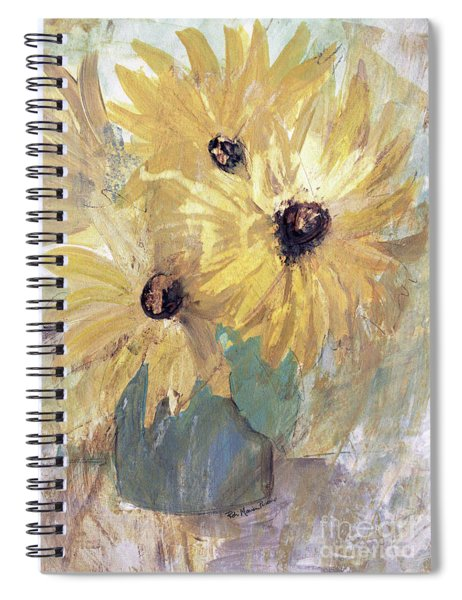 Simply Sunflowers  Spiral Notebook