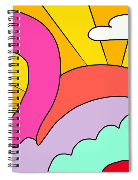 Simply Swan-sational Spiral Notebook
