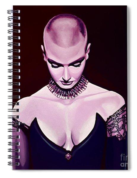 Sinead O'connor Spiral Notebook