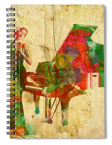 Sing It Baby One More Time Spiral Notebook