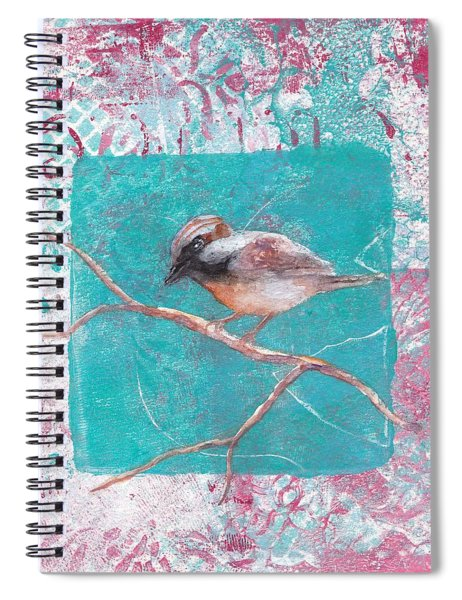 Sing Of Spring Spiral Notebook