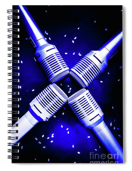 Sing Star Spiral Notebook