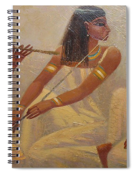 Singers Of Pharaoh Spiral Notebook