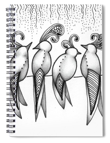 Singin' In The Rain Spiral Notebook