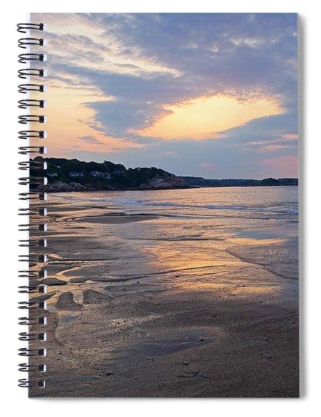 Singing Beach Sandy Beach Manchester By The Sea Ma Sunrise Spiral Notebook