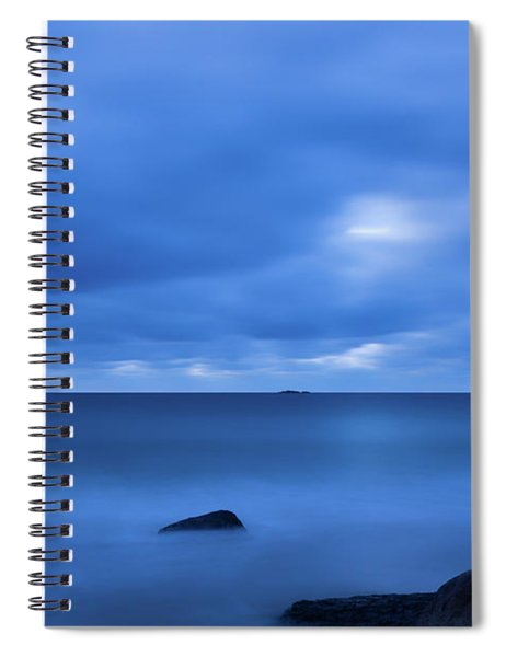 Singing The Blues, Singing Beach   Spiral Notebook