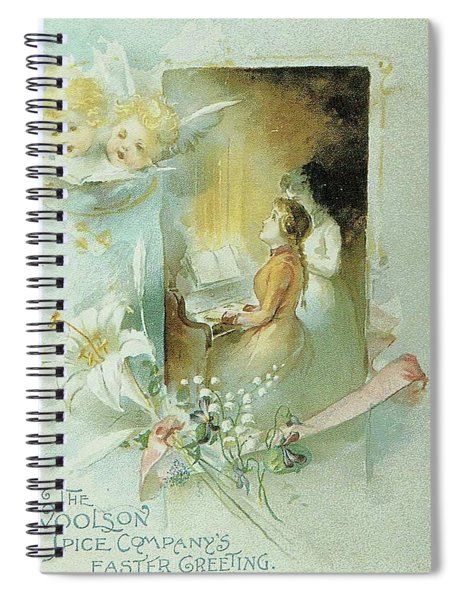 Singing The Praises Spiral Notebook