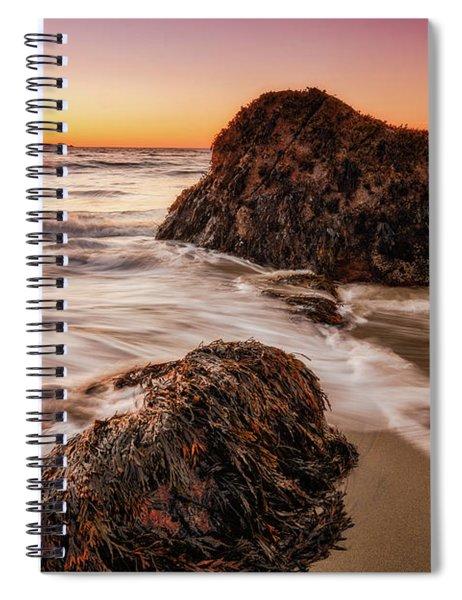 Singing Water, Singing Beach Spiral Notebook