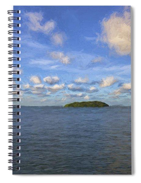 Single Island II Spiral Notebook