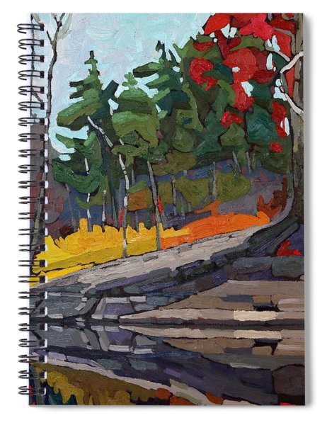 Singleton Autumn Spiral Notebook