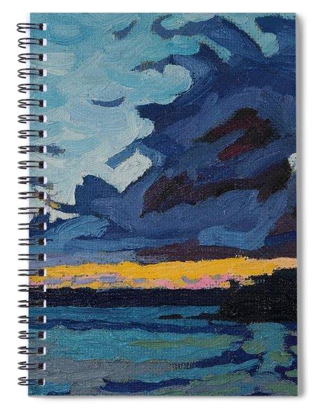 Singleton Sunset Stratocumulus Spiral Notebook