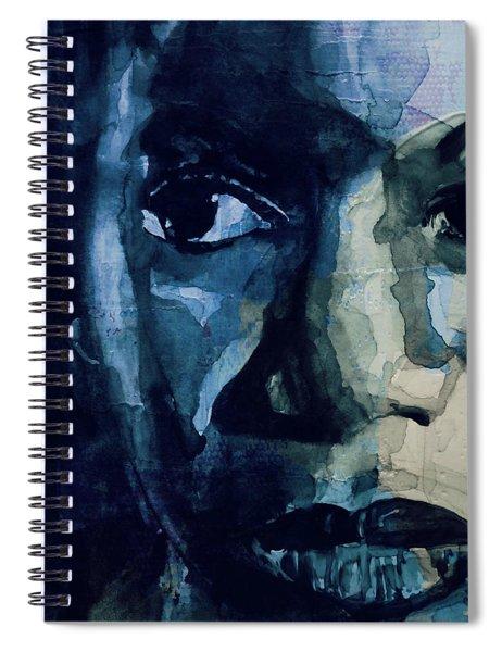 Sinnerman - Nina Simone Spiral Notebook