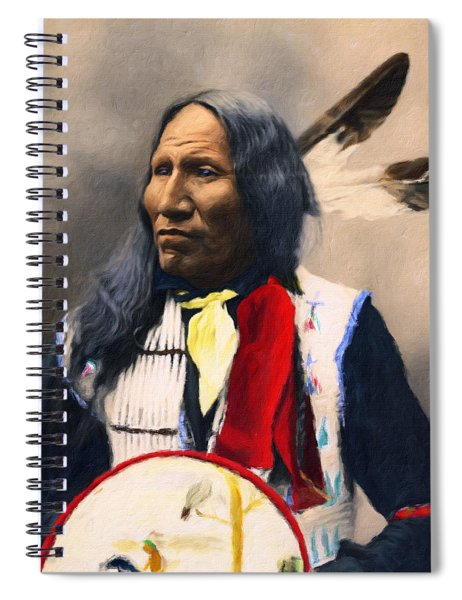 Sioux Chief Portrait Spiral Notebook