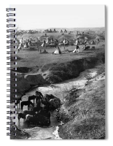 Sioux Native Americans, 1891 Spiral Notebook