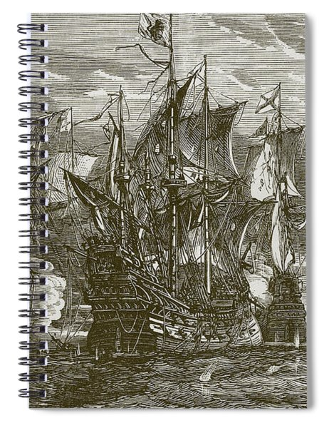 Sir Andrew Wood's Victory Spiral Notebook