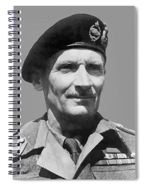 Sir Bernard Law Montgomery  Spiral Notebook