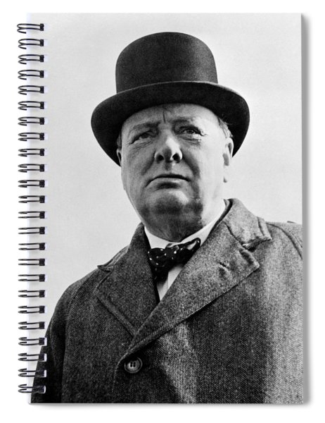 Sir Winston Churchill Spiral Notebook