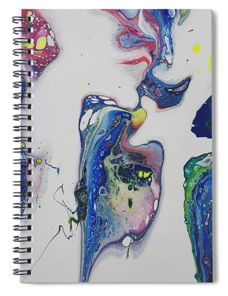 Sirens Of The Seas Spiral Notebook