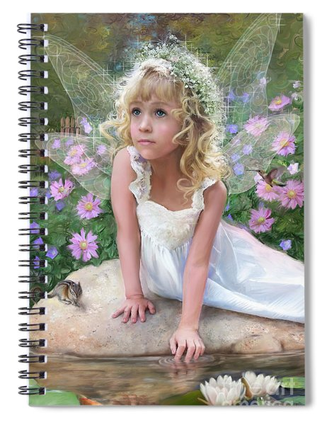 Sissy Fairy Spiral Notebook