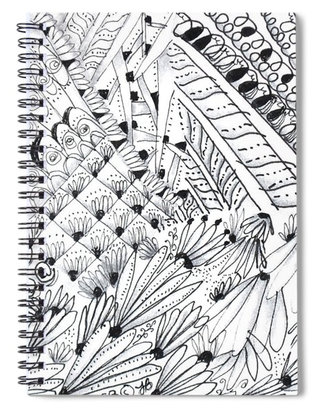 Sister Tangle Spiral Notebook