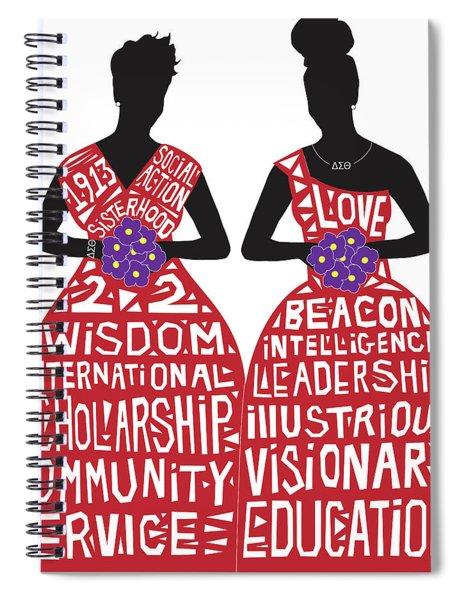 Sisterhood Spiral Notebook