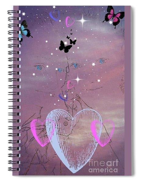 Sisterly Love Spiral Notebook