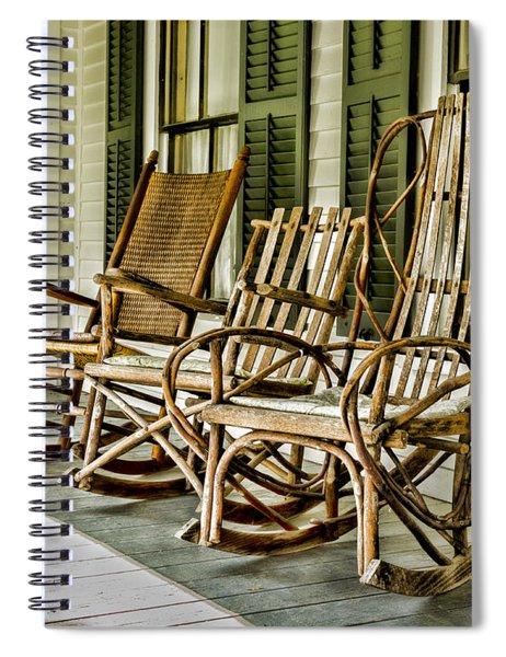 Sit A Spell Spiral Notebook