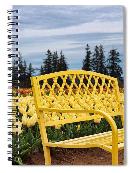 Sit And Enjoy Spiral Notebook