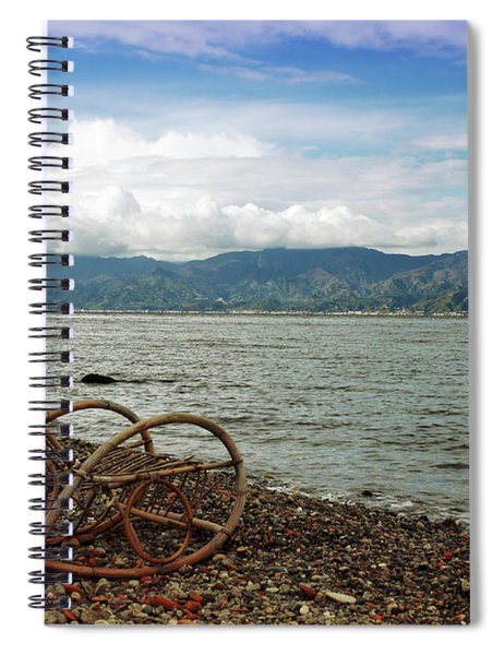 Sit Back And Enjoy Spiral Notebook