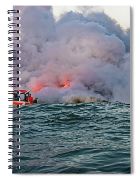 Spiral Notebook featuring the photograph Six Pac by Jim Thompson