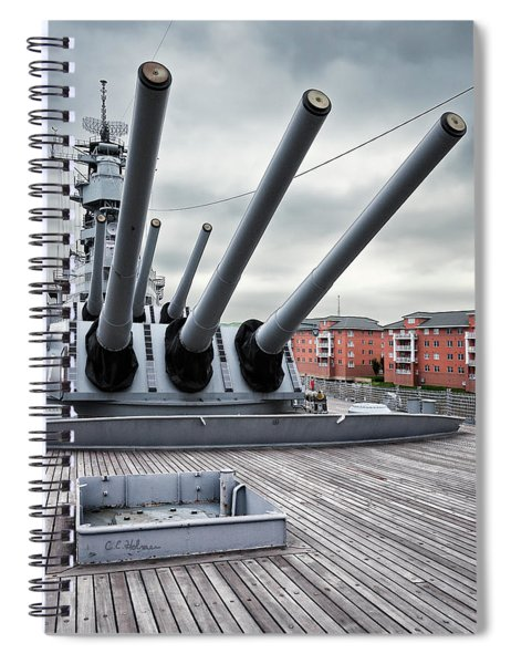 Six Pack Of Sixteens Spiral Notebook