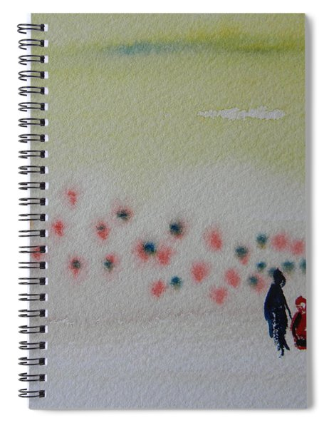 Six Seasons Dance Four Spiral Notebook
