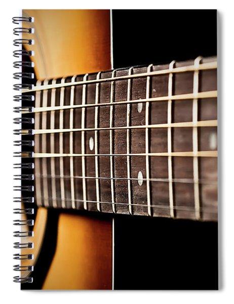 Six String Guitar Spiral Notebook