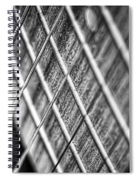Six Strings Spiral Notebook