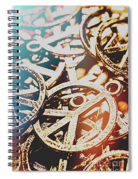 Sixties Peace Revolution Spiral Notebook