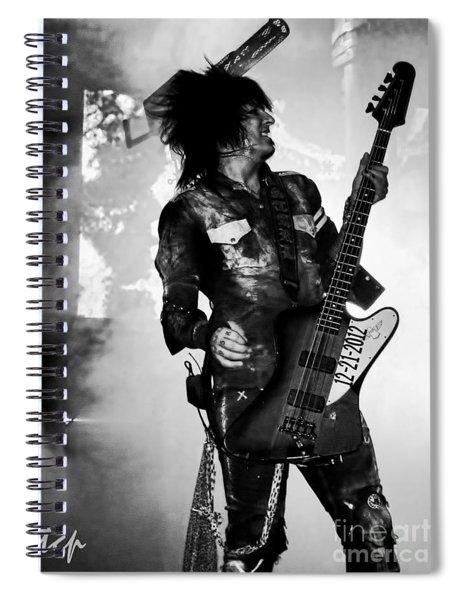 Sixx Spiral Notebook
