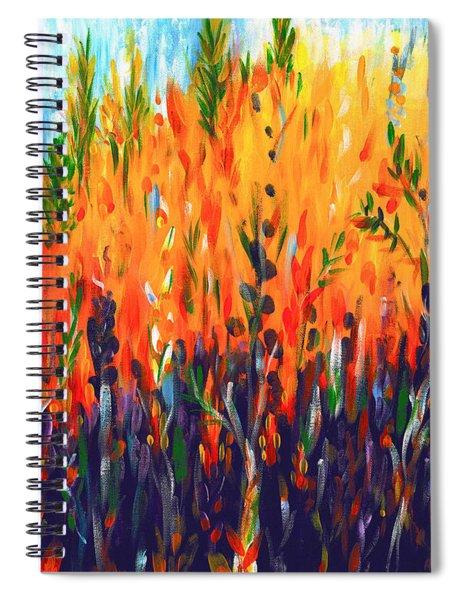 Sizzlescape Spiral Notebook