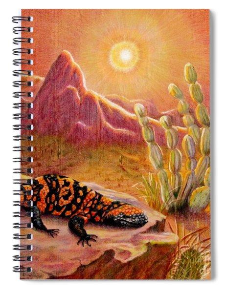 Sizzling Heat Spiral Notebook
