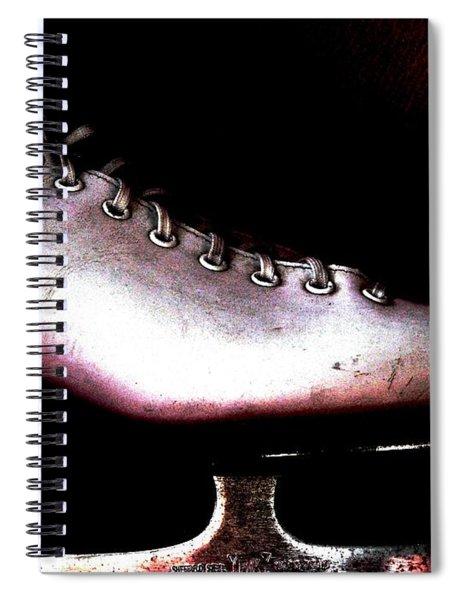 Skate On Spiral Notebook