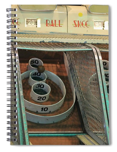 Skee Ball At Marty's Playland Spiral Notebook