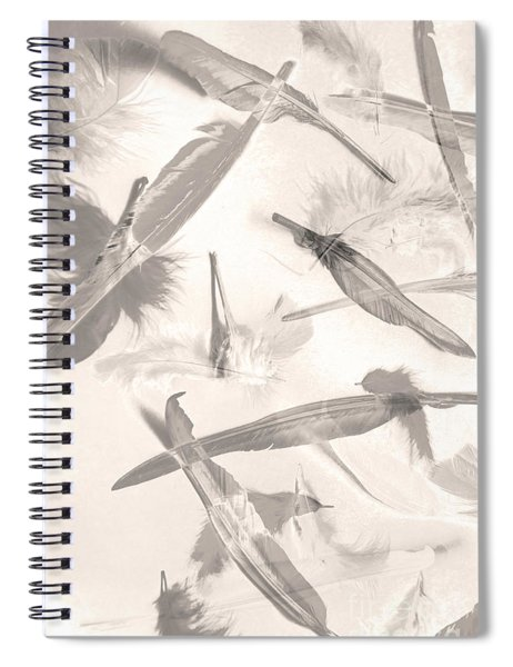 Skies Of A Feather Spiral Notebook
