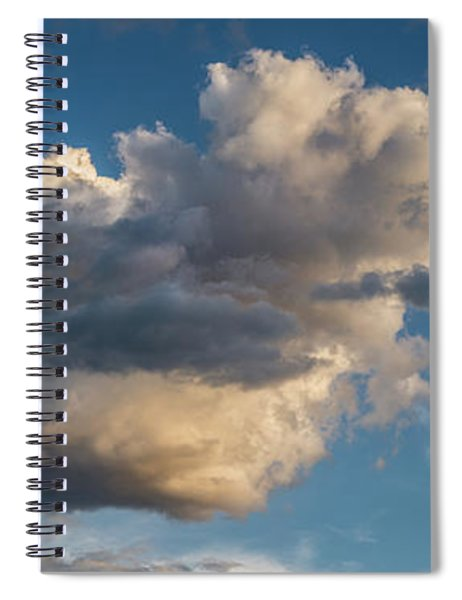 Skies Over Ghost Ranch New Mexico Spiral Notebook